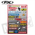FX Sponsor Sticker Kit Brands Kit B