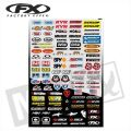 FX Sponsor Sticker Kit Brands Micro M