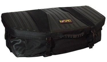 kolpin zipperless frontrear bag black