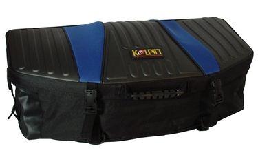 kolpin zipperless frontrear bag blue