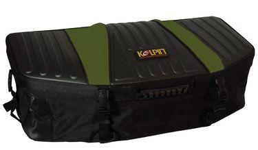 kolpin zipperless frontrear bag green