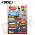 FX Sponsor Sticker Kit Brands Kit B