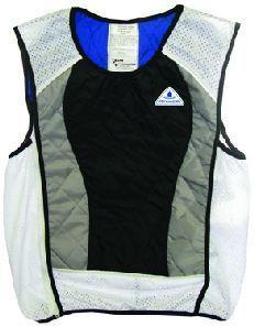 hyperkewl cooling vest silverblack