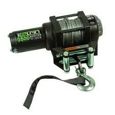 kolpin 3500lb winch synthetic cable